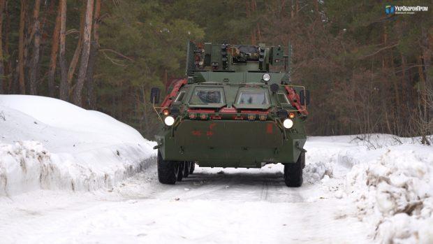 Харьковские бронетанковые предприятия завершают испытания БТР-4