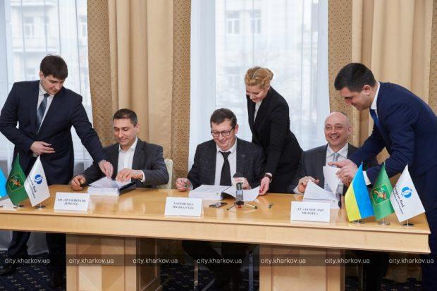 Троллейбусное депо №2 и «Богдан Моторс» подписали договор на поставку троллейбусов