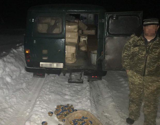Российские пограничники могли способствовать перемещению контрабандной икры на Харьковщину