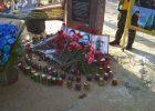 В Харькове прошла акция памяти погибших возле Дворца Спорта