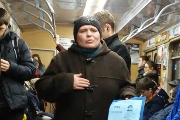 """В харьковском метро избили """"актрису"""""""