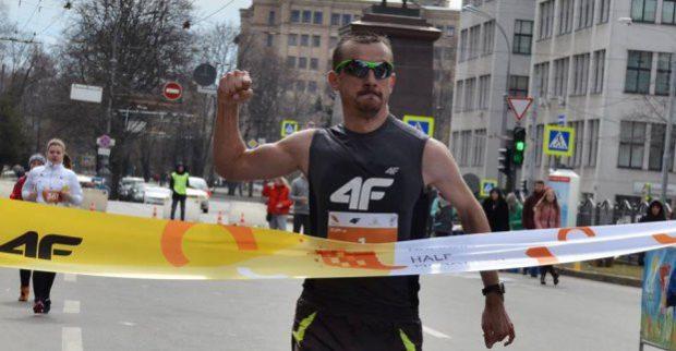 Более 800 человек пробежали третий Харьковский полумарафон