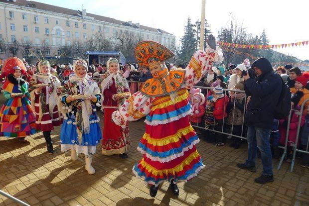 Масленица в Парке Горького, Харьков