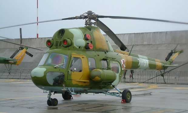 В Харьковской области военный вертолет совершил аварийную посадку