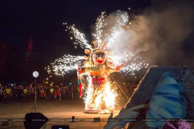 В Харькове отпраздновали Масленицу