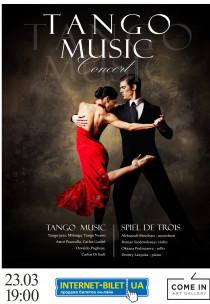 Astor Piazzolla & Tango-jazz / SPIEL DE TROIS Харьков