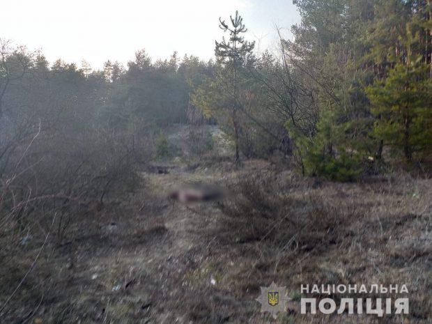 В лесу под Харьковом нашли мертвым контрактника ВСУ