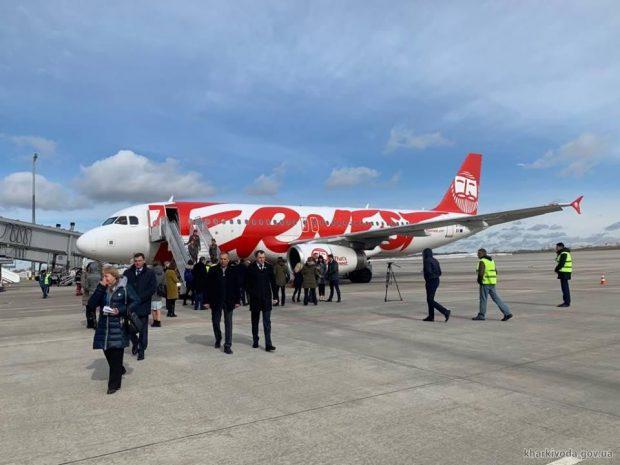 Открылись рейсы из Харькова в Рим и Милан