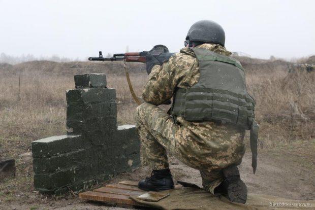 На Харьковщине прошли занятия с бойцами территориальной обороны