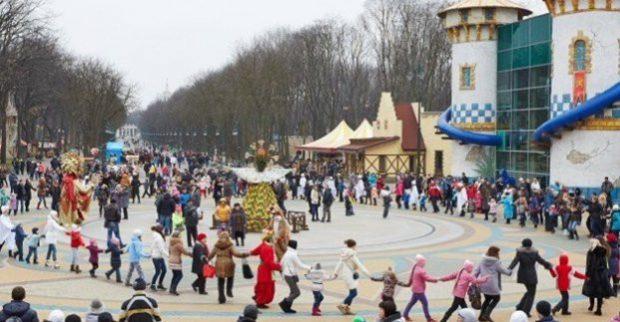 В парке Горького отпразднуют Масленицу