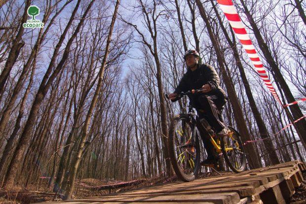 Лесной велотрек Feldman Crazy Bikes, Харьков