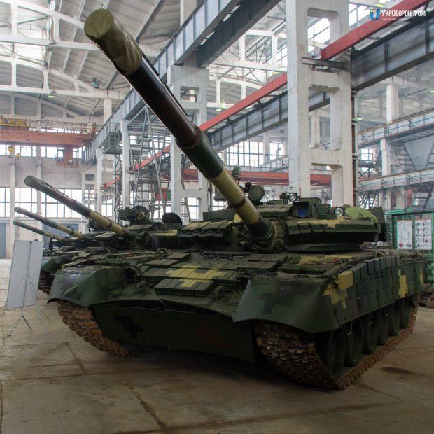"""""""Харьковский бронетанковый завод"""" модернизировал Т-80"""