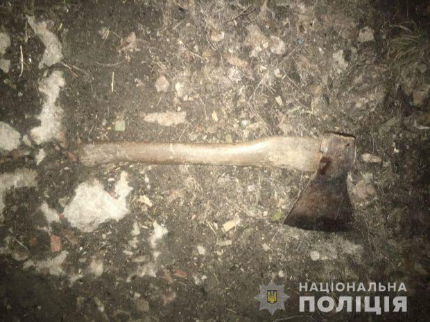 Под Харьковом вор ударил топором хозяйку дома