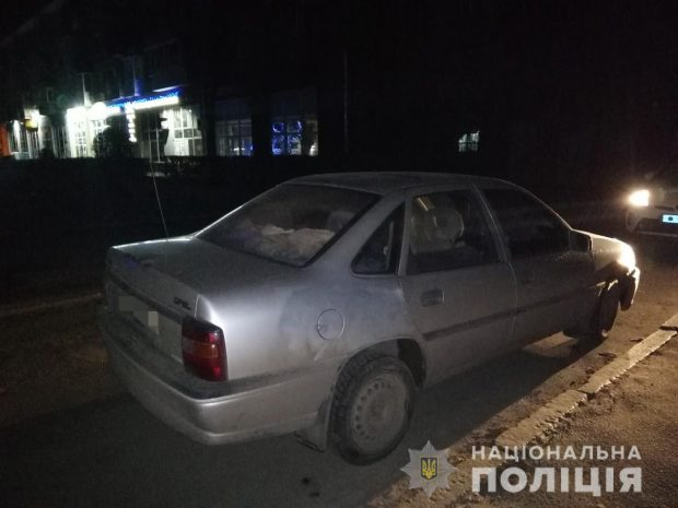 Под Харьковом безработный похитил автомобиль и попал на ней в ДТП