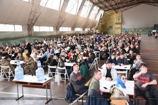 В Харькове установлен национальный рекорд по самой массовой игре «Что? Где? Когда?»