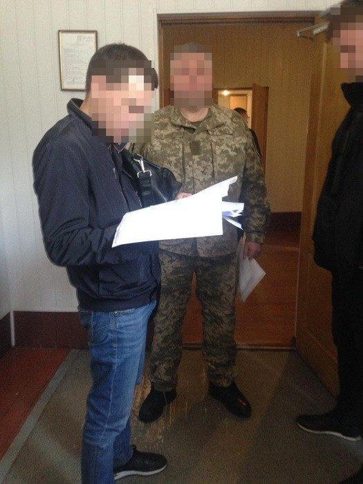 На Харьковщине на взятке разоблачили руководителя оперативного подразделения пограничников