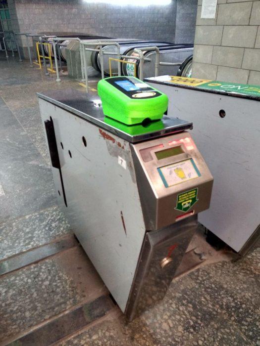 В метро Харькова тестируют систему Е-ticket
