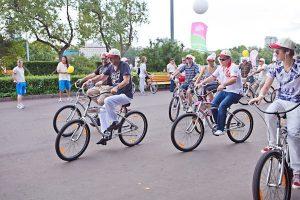 прокат велосипедов в парке горького