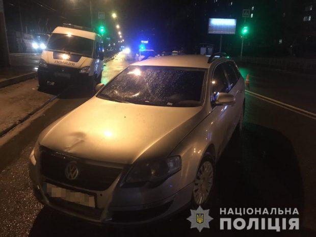 В Харькове в результате аварии пострадала женщина-пешеход
