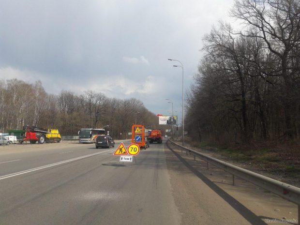 С начала года дорожники в Харьковской области ликвидировали почти 40 тыс. кв. м ямочности