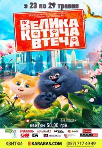Большой кошачий побег Харьков