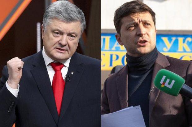 Дебаты_челендж: Зеленского и Порошенко в Сети призывают к публичной дискуссии