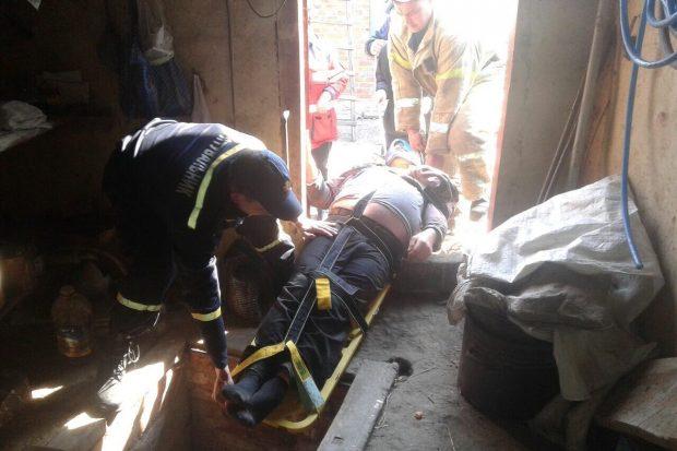 Под Харьковом у мужчины в погребе случился инсульт