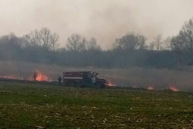 За сутки спасатели ликвидировали 30 пожаров в экосистемах Харьковщины