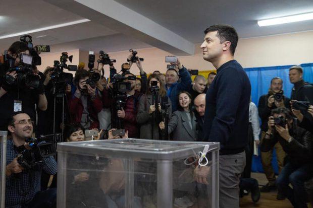 Первый тур выборов президента: Харьковская область проголосовала за Владимира Зеленского
