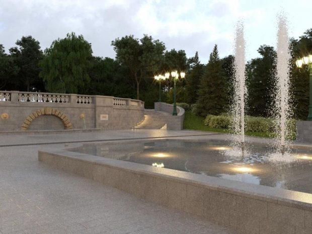 Кернес на сессии городского совета прокомментировал реконструкцию «Каскада»