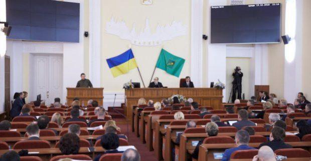 На сессии городского совета Кернес раскритиковал Светличную