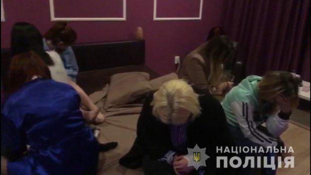 В Харькове полицейские накрыли бордель