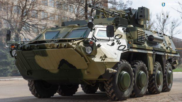 В Харькове запустили собственное серийное производство корпусов БТР-4
