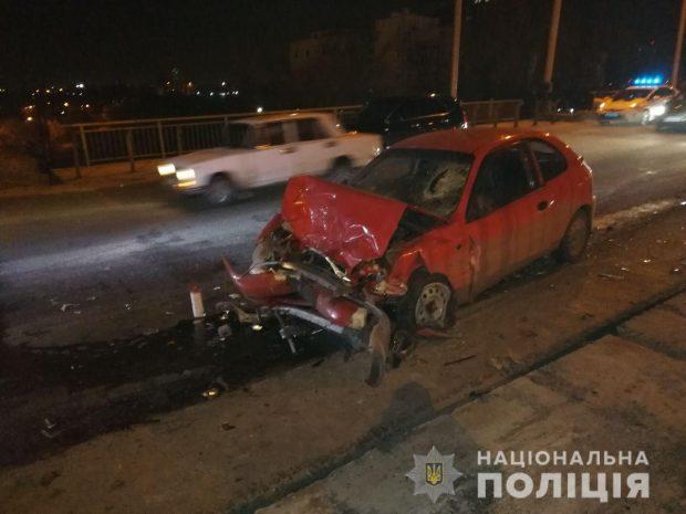 В Харькове в результате автокатастрофы погиб мужчина