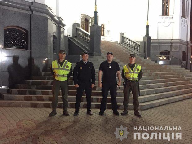 Во время празднования Пасхи в Харьковской области грубых нарушений порядка не зафиксировали