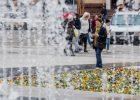 В Харькове заработали фонтаны