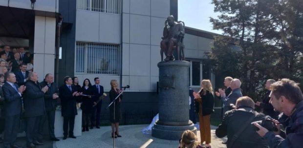 В Харькове открыли памятник Николаю Бокариусу