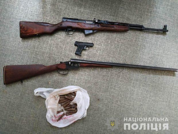 На Харьковщине граждане сдали в органы полиции 369 единиц оружия