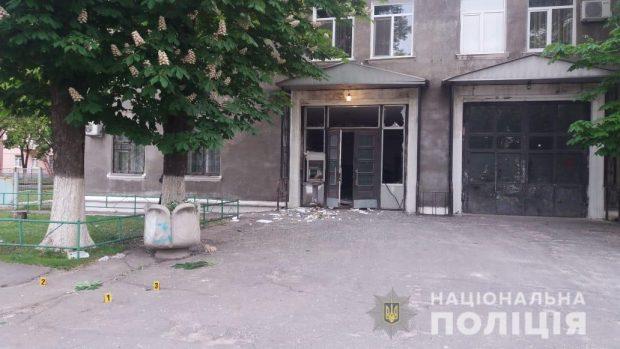 Под Харьковом неизвестные подорвали банкомат