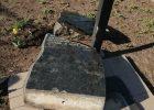 Разбитый памятник в честь провозглашения независимости Украины восстановят