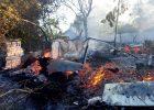 Под Харьковом выжигание сухостоя привело к большому пожару