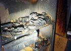 В 9-этажном доме на Салтовке горела квартира