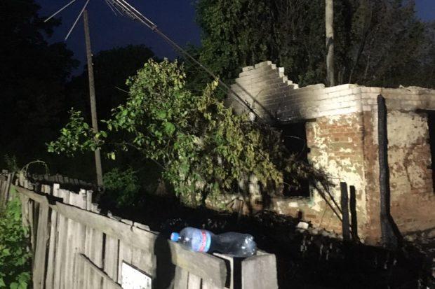 Под Харьковом на месте пожара обнаружено тело погибшего