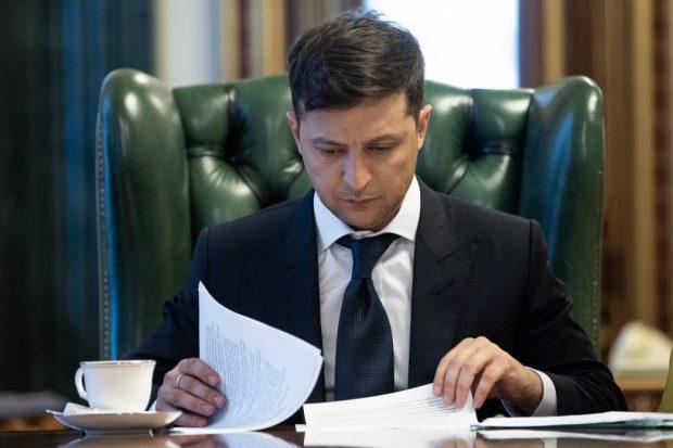 Владимир Зеленский подал в Раду закон об импичменте