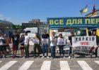 В центре Харькова прошла акция «Хто замовив Катю Гандзюк?»