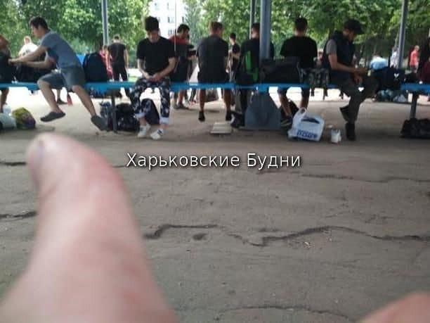 В Харькове парня сутки удерживают в военкомате - соцсети