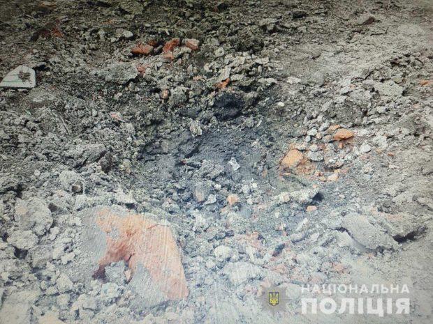 В Харькове во двор дома бросили РГД-5