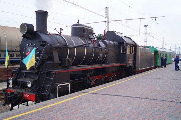 Праздничный ретропоезд совершит рейс из Харькова