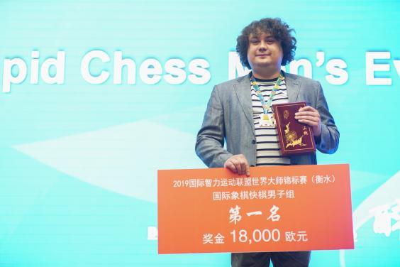 Харьковский гроссмейстер выиграл Всемирные интеллектуальные игры