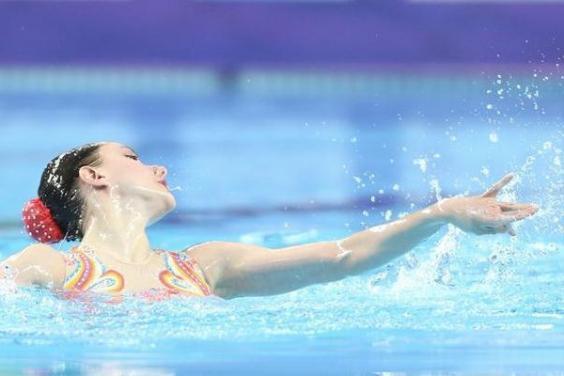 Харьковские синхронистки успешно выступили в Мировой серии